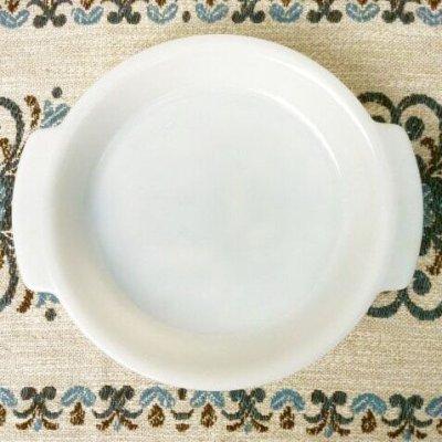 画像1: ファイヤーキング ミルクグラス ホスピタリティ 9インチ・パイプレート