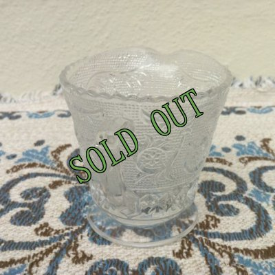 画像2: sold 【限定奉仕品】ダンカン&ミラー グラス(1925年〜1965年) サンドイッチ クリアー クリーマー
