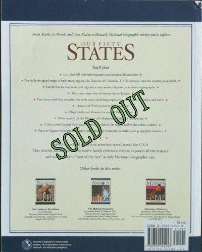 画像2: sold 洋書{アメリカ50州ムック}ナショナルジオグラフィック アウア・フィフティ・ステイツ 2004年 ソフトカバー National Geographic Children's Books 刊