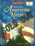 洋書{アメリカンスクール教科書}ザ・アメリカン・ネーション カリフォルニア版 2000年 ハードカバー Pearson Prentice Hall 刊