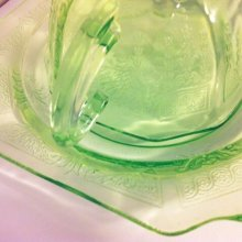他の写真2: Anchor Hocking, Princess Green Vaseline / Uranium Glass Tea Cup 1931~1935, AS IS