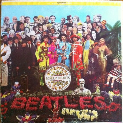 画像1: LPレコード ビートルズ サージェント・ペパーズ・ロンリー・ハーツ・クラブ・バンド レインボーキャピトルレーベル盤(US盤)
