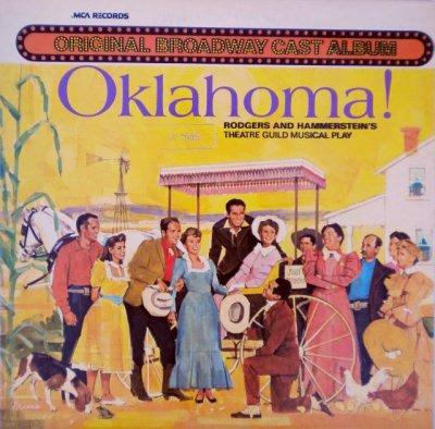 画像1: LP Oklahoma! - Original Broadway Cast Album (MCA )