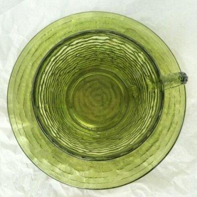 画像3: ファイヤーキング ソレノ アボカドグリーン カップ&ソーサー