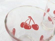 他の写真1: ビンテージ・リビー 1950年代 ビンテージ・チェリー・グラス 2個セット