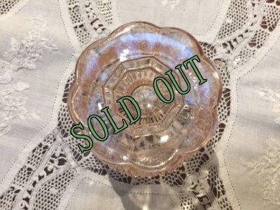 画像4: sold インディアナグラス ピンクのフェアリーランプ キャンドルホルダー