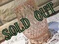 sold インディアナグラス ピンクのフェアリーランプ キャンドルホルダー