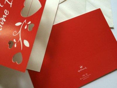 画像2: NEW Hallmark, 2 Valentine Invitation Cards Set