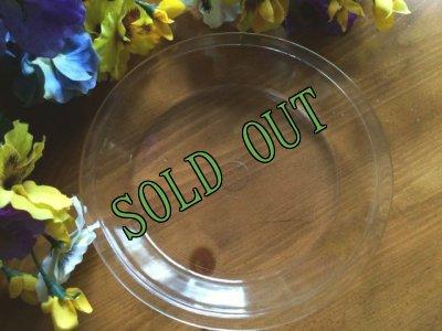 画像2: sold 【限定奉仕品】パイレックス オーブンウェア クリアガラス パイプレート