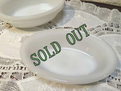 画像2: sold グラスベイク ミルクグラス キャセロール (S)