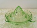 Depression Vaseline / Uranium Glass Reamer, Green, AS IS