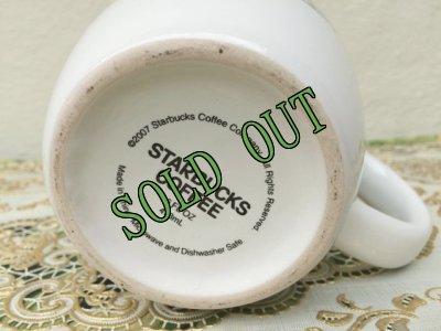 画像4: sold スターバックス 2007年 旧ロゴマーク 陶器マグ 473ml