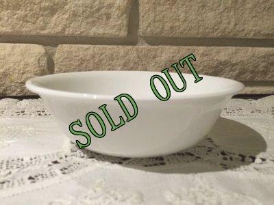 画像1: sold 現行コレール(コーニング社)ウインターフロストホワイト スープ/ シリアル・ボウル