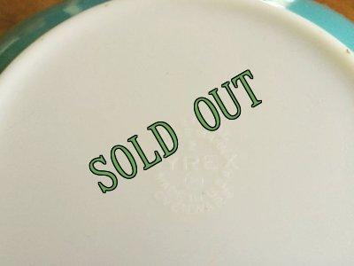 画像5: sold パイレックス オーブン・アンド・テーブル ラージボウル ターコイズ 2 1/2クウォート(約1900ml) 1950年代