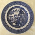 Johnson Bros, Blue Willow, Plate, Small