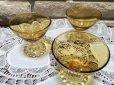 画像4: sold アンカーホッキング ブーピー アンバーカラーのシャンパングラス(シャーベットグラス) (4)