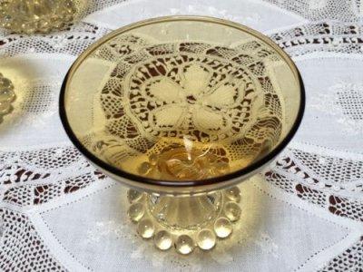 画像2: アンカーホッキング ブーピー アンバーカラーのシャンパングラス(シャーベットグラス)