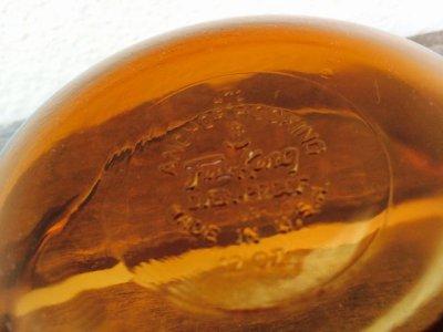 画像5: ファイヤーキング アンバーカラー  ミニキャセロール 12オンス(約350ml)