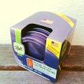 新品箱入 ボール・メイソンジャー レギュラーマウス用フタ(パッキンつき) パープル(ラベンダー紫)×6個セット