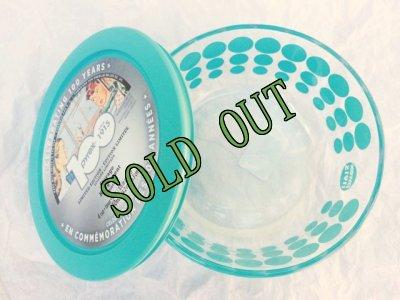 画像3: sold 2015年発売 新品タグ付 パイレックス 100周年記念ストレージ(保存容器) 蓋つき ターコイズ 950ml