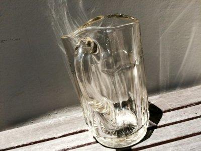 画像2: アンカーホッキング ビンテージクリアガラス・ピッチャー