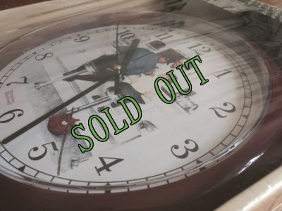 画像2: sold 新品未開封 ノーマン・ロックウェル 「サタデー・イブニング・ポスト」コレクション 掛け時計 家出