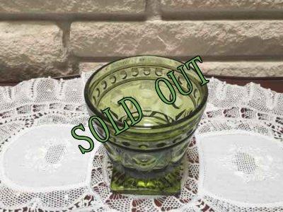 画像4: sold インディアナ・グラス グリーン・ゴブレット