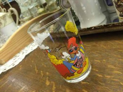 画像1: Woody & Friends 1992 Walter Lantz Glass, AS IS