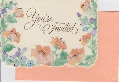 画像1: 8 Vintage Hallmark Invitation Cards, made in USA