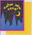 画像1: sold 8 Vintage Invitation Cards, Happy New Year, made in USA (1)