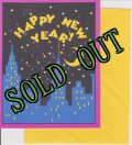 sold 8 Vintage Invitation Cards, Happy New Year, made in USA