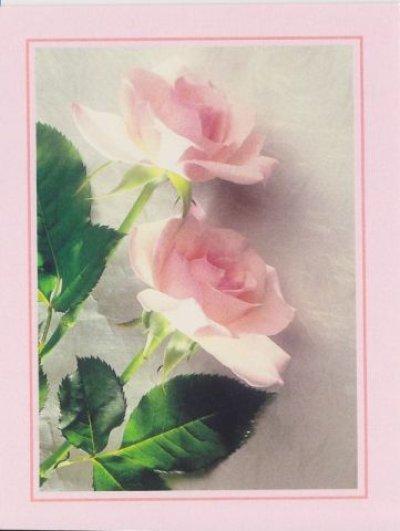 画像2: ビンテージ 未使用カード スイトピー 封筒(ピンク)付 made in USA