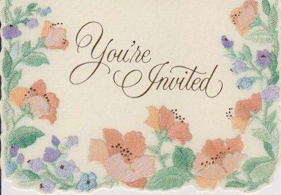 画像2: 8 Vintage Hallmark Invitation Cards, made in USA