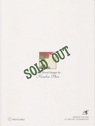 画像2: sold Vintage Thank You Card, Flowers, made in USA