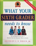 Book, What your 6th Grader needs to know, 2007 Paperback