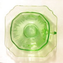 他の写真3: Anchor Hocking, Princess Green Vaseline / Uranium Glass Tea Cup 1931~1935, AS IS