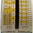 画像7: ビンテージ・ポスタル・スケール(郵便秤) ※オンス-ポンド計量のみ アメリカの1953年10月1日郵便料金レート版 made in USA