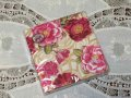 Brand New Beverage Paper Napkins, Damask Rose