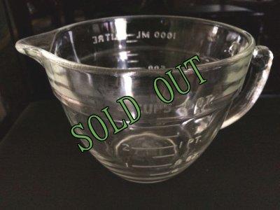 画像2: sold ファイヤーキング バターボウル・ミキシング・計量カップ 1リットル/アメリカサイズの4カップ