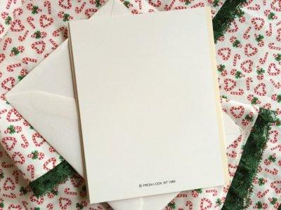 画像3: 未使用 1989年クリスマス・インビテーションカード(白封筒つき) アメリカ製