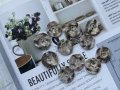 NEW Vintage Button Marble 11pc