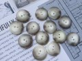 NEW Vintage Button Marble 13pc