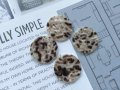 NEW Vintage Button Marble 4pc