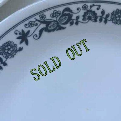 画像4: sold コレール(コーニング社)オールドタウンブルー サラダプレート AS IS