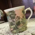 Currier & Ives 4 Seasons Summer Mug made in Japan