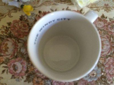 画像5: スターバックス 2002年シカゴ限定販売 陶器マグ(大)510ml