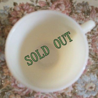 画像4: sold 【限定奉仕品】ファイヤーキング 新品同様 1946年〜1958年 アイボリー・ミルクグラス 1700ライン・セント・デニス・カップ