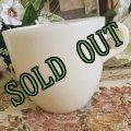 sold 【限定奉仕品】ファイヤーキング 新品同様 1946年〜1958年 アイボリー・ミルクグラス 1700ライン・セント・デニス・カップ