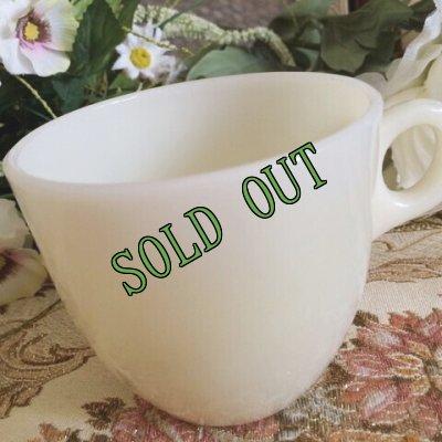画像2: sold 【限定奉仕品】ファイヤーキング 新品同様 1946年〜1958年 アイボリー・ミルクグラス 1700ライン・セント・デニス・カップ