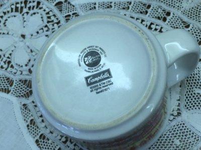 画像5: キャンベル スープマグ 2005年 Made in China